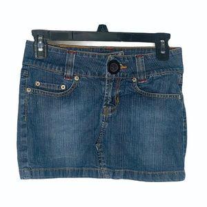 Rampage Jean mini skirt size 0